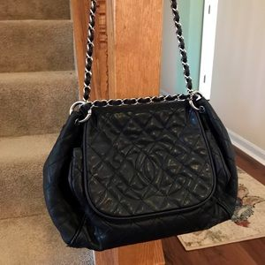 9ac3164f8a9a Women s Chanel Quilted Fabric Bag on Poshmark